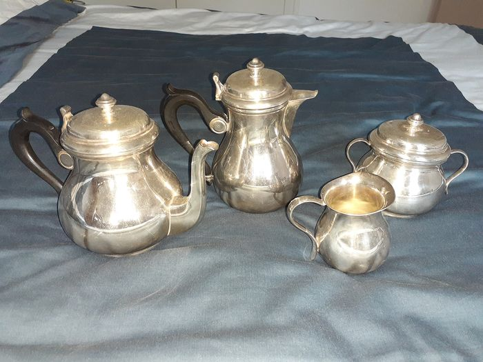 christofle collection gallia - Coffee and tea service - Silver plated