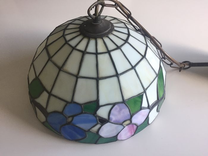 Hanging lamp - Stained glass