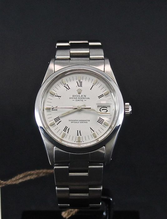 Rolex - Date Oyster - 1500 - Unisex - 1980-1989