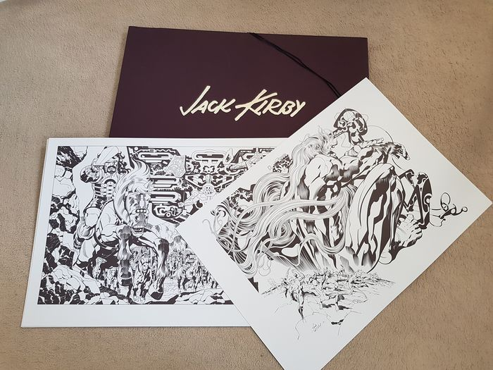 The Jack Kirby Portfolio - Limited Edition 40/500 - Signed - First edition