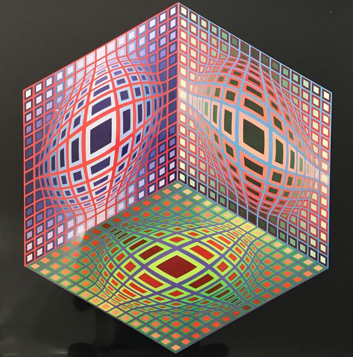 Victor Vasarely  - TEST - 2