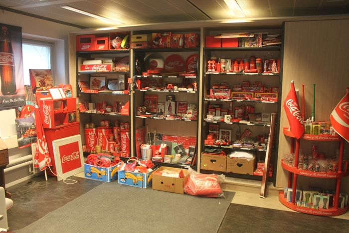 Coca-Cola - Very Large Collection of Various Coca-Cola Items - .