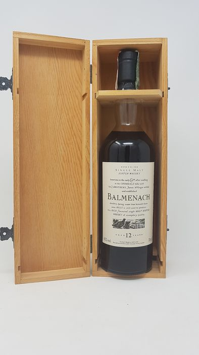 Balmenach 12 years old  Flora & Fauna - Official bottling - b. 1990s - 700ml