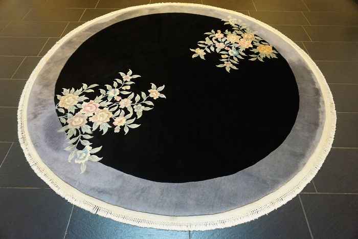 China Aubusson - Alfombra - 250 cm - 250 cm