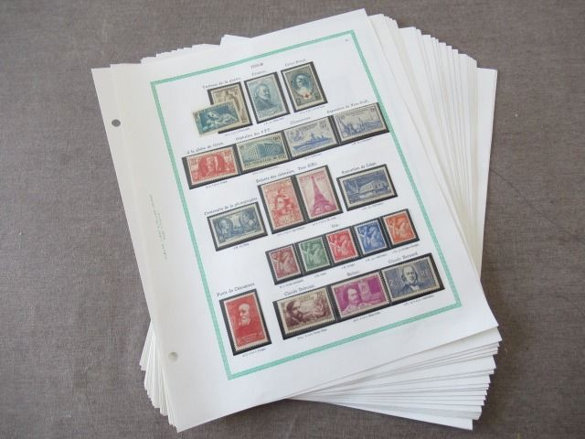 Frankrijk 1900/1939 - Collection of stamps
