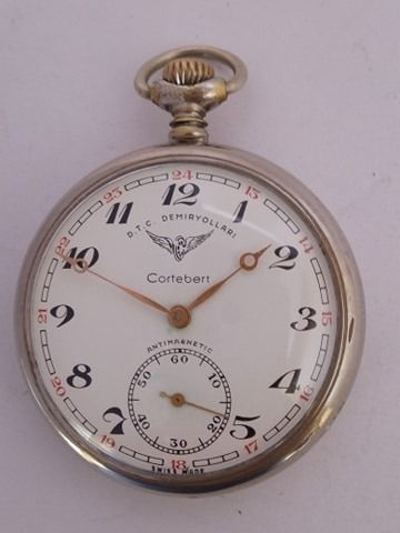Cortébert - pocket watch NO RESERVE PRICE - Heren - '900