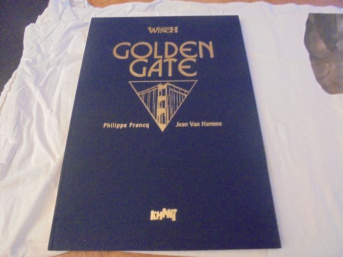 Largo Winch 11 + 12 - Golden gate - groot formaat luxe linnen - Hardcover - First edition (1996)