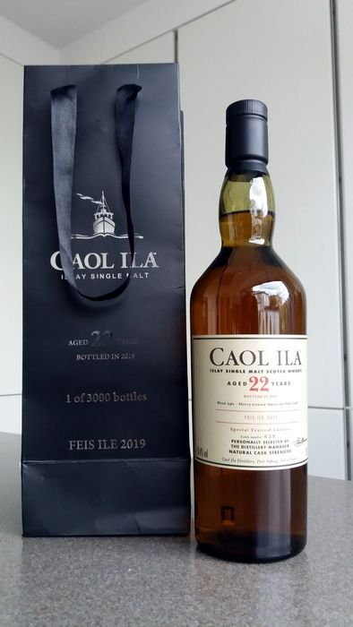 Caol Ila 22 years old Feis Ile 2019 - Official bottling - 70 cl