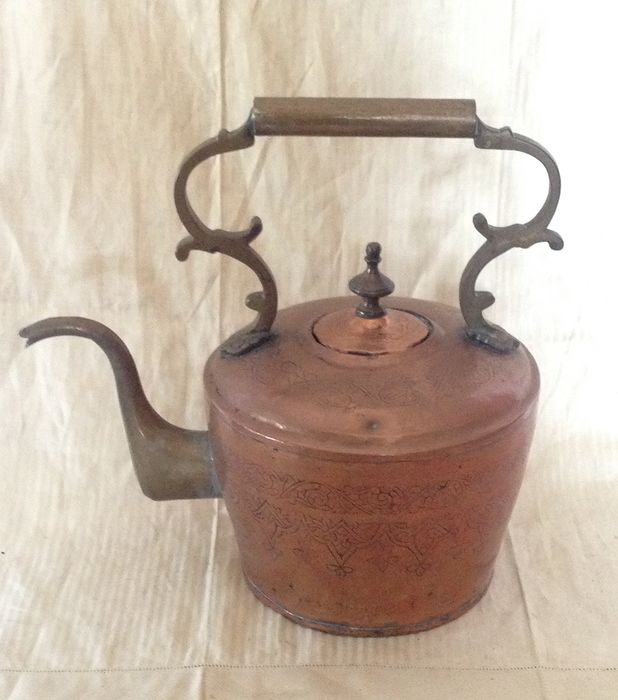 Decorative kettle - Brass, Copper