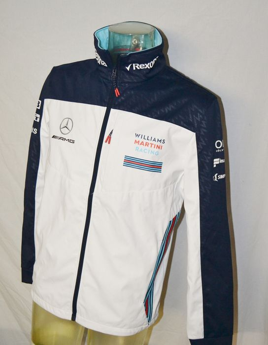 "Williams Mercedes Softshell Jacket ""Bahrain"" - Formule 1 - Vêtements d'équipe - 2017"