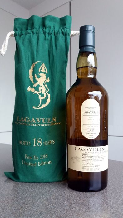 Lagavulin 18 years old Feis Ile 2018 - Official bottling - 70cl