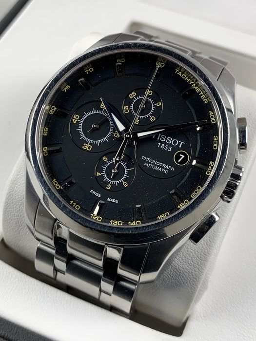 Tissot - Couturier Chronograph Automatic - T035627A - Heren - 2011-heden