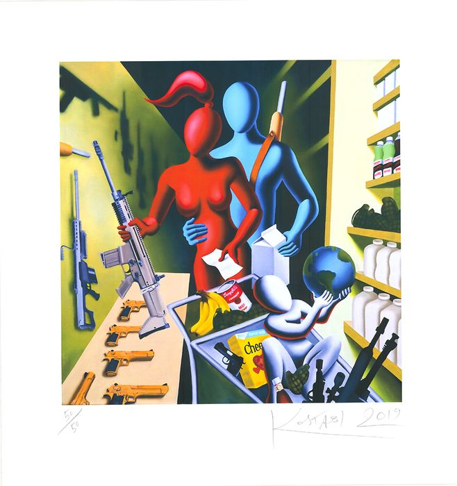 Mark Kostabi - Automatic for the People