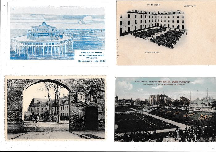 Belgium - Miscellaneous - Vlaams Landsdeel - Postcards (Collection of 308) - 1902