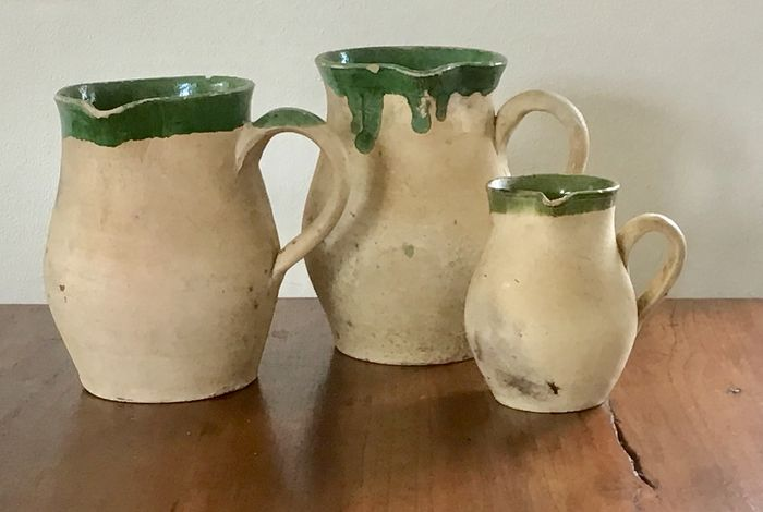 Ligron jugs - Clay, Earthenware