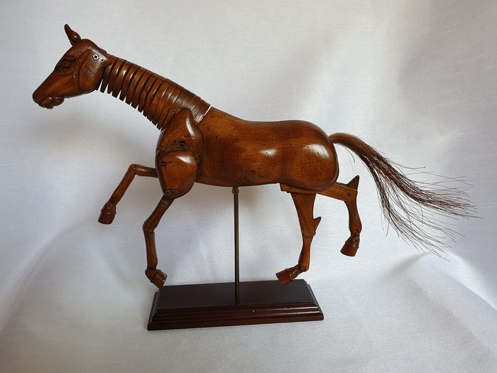 Hand crafted wood horse - Wood