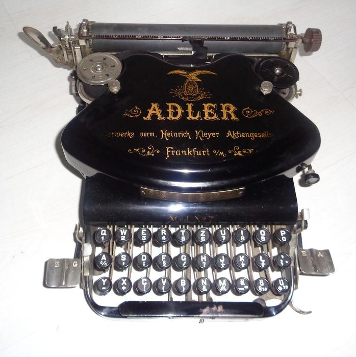 """ADLER model no. 7"" - schrijfmachine"