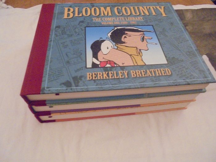 Bloom County - The Complete Library  #1-3 hardcover met linnen rug  - First edition - (2009/2010)