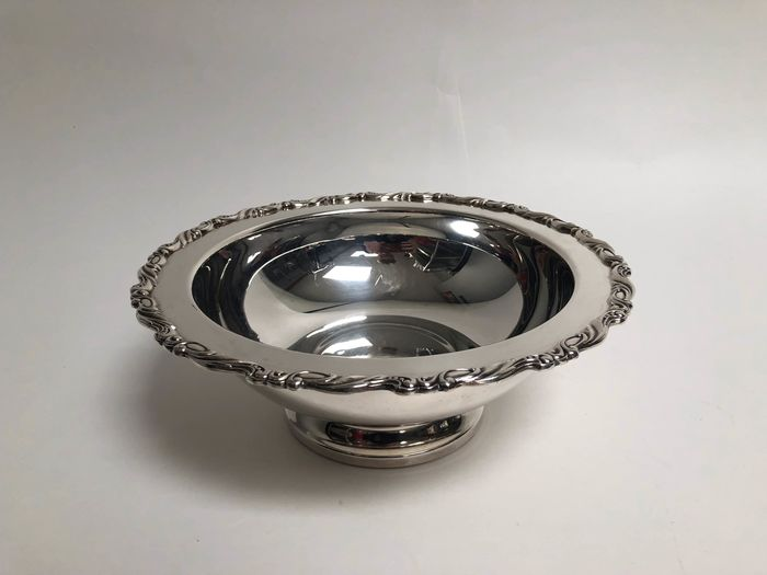 oneida - oneida - environmental table, fruit bowl - Silverplate