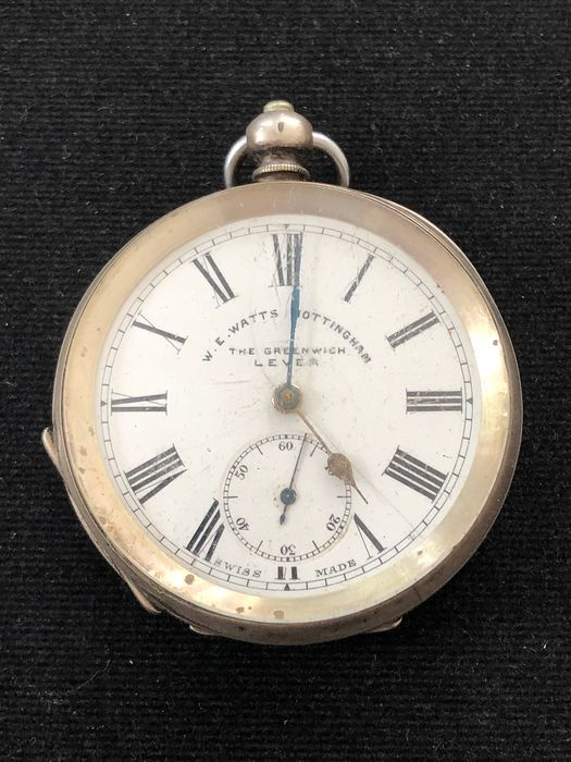The greenwich Lever  - pocket watch NO RESERVE PRICE - Unisex - 1850-1900