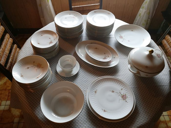 Scherzer Bavaria - Dinner set (56) - Porcelain
