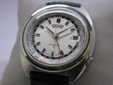 Seiko - World Time GMT Automatic mens watch rare vintage  - 6117-6400 - Homme - 1970-1979