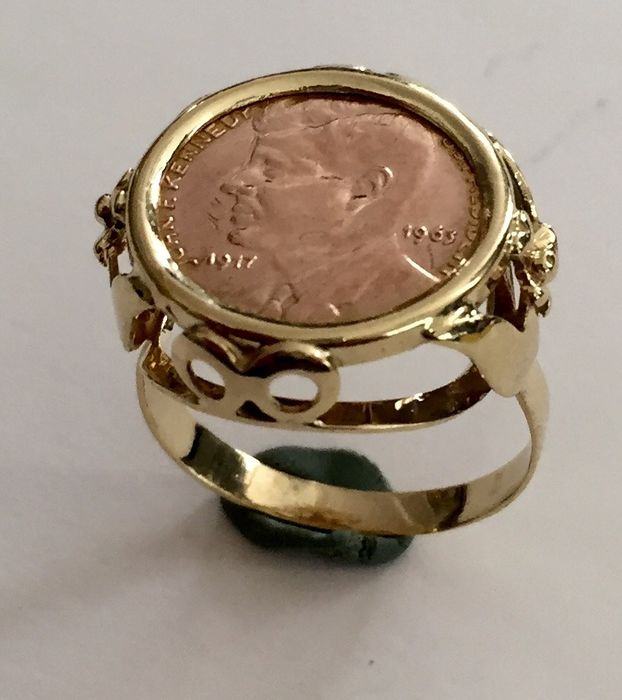 14 kt Yellow gold – Ring
