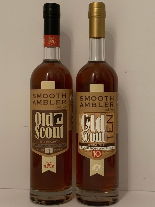 Smooth Ambler Old Scout 7 years old & 10 years old - 700ml - 2 bottles