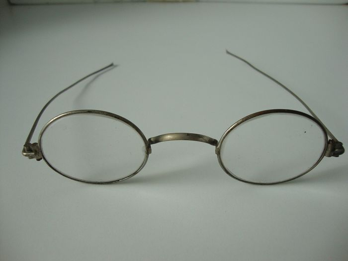 Old glasses - probably nickel