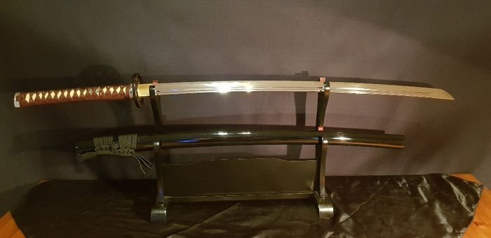 Sword (1) - Steel, Wood - Katana - China - 21st century