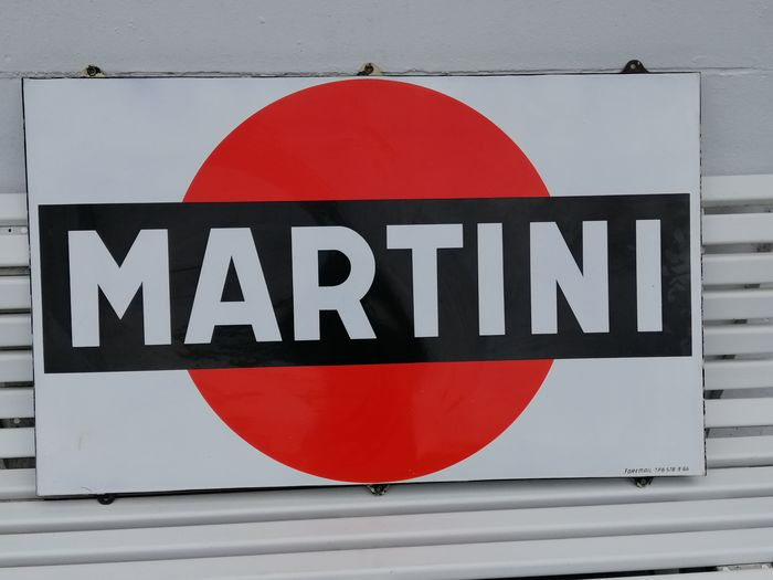 Martini Foremail - Foremail Martini Emaille - Enamel martini formail billboard (1) - Enamel