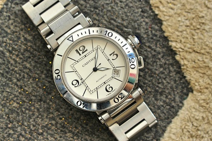 Cartier - Pasha Seatimer Automatic SS 40mm - Ref 2790 - Men - 2000-2010