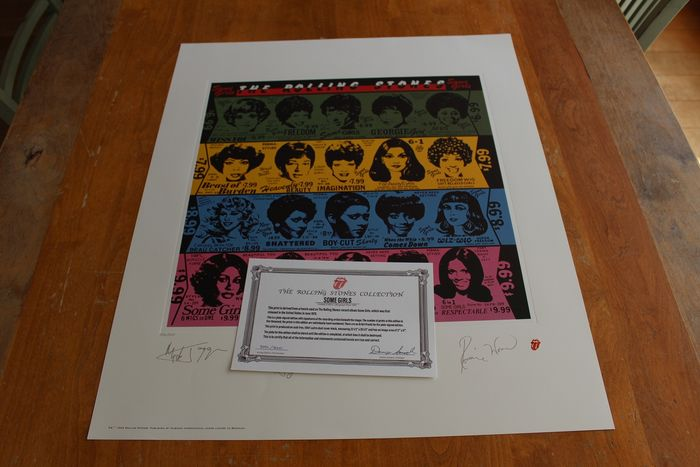 The Rolling Stones - Some Girls - Lithograph - 1994/1994