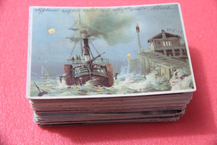 Italy, Leudi Barconi sailing ships - Maritime, Ships, Shipwrecks - Postcards (Collection of 190) - 1900-1945