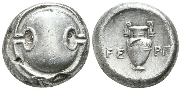 Griekenland (oud) - Boeotia. Thebes. AR Stater, 363-338 BC - Zilver