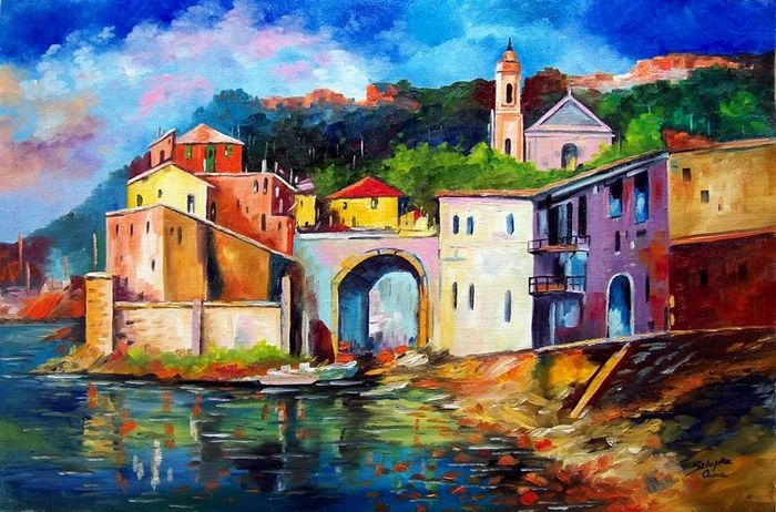 Anna Sztopka (1950-) - Beautiful Italia