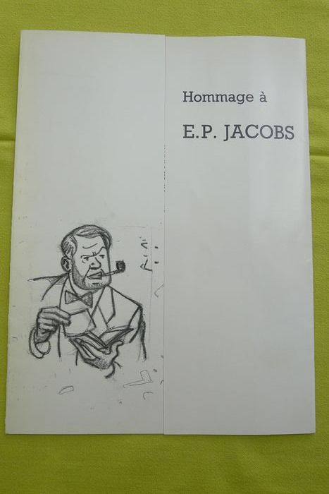 Blake & Mortimer - Hommage à E.P Jacobs - First edition - (1988)