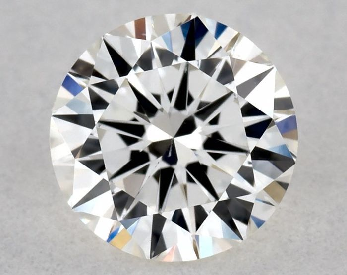 Diamant - 0.40 ct - Brillant - H - VS2, IGI | VG/VG/VG | Free Shipping