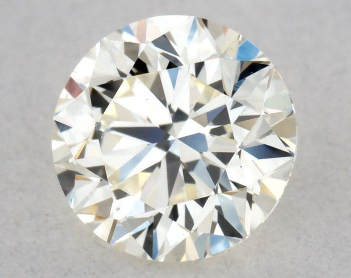 1 pcs Diamant - 0.40 ct - Briljant, Rond - K - VS1, ** VG/EX/VG - Low Reserve Price **