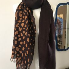 Gucci Large stole in modal and viscose