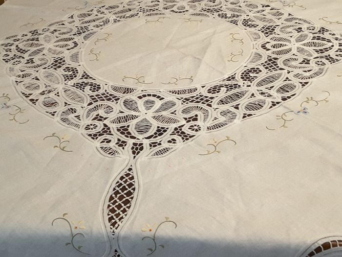 Tablecloth with napkins (9) - Cotton