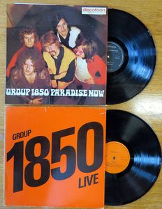 Group 1850  - Paradise Now/Group 1850 - Live - LPer - 1969/1975
