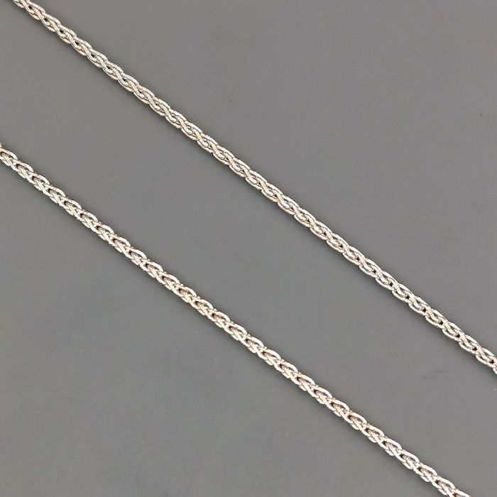 18 kt white gold - Necklace