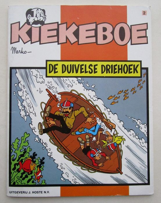Kiekeboe 2 - De duivelse driehoek - Softcover - First edition - (1978)