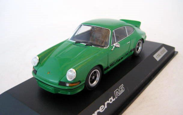 MiniChamps - 1:43 - Porsche 911 Carrera RS Green 1973 - Limited Edition - Mint Boxed - Factory Sold Out
