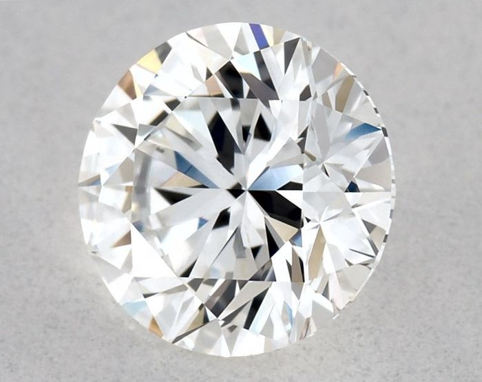 1 pcs Diamond - 0.51 ct - Brilliant, Round - E, IGI - 3EX - VVS2, Low Reserve Price + Free Shipping