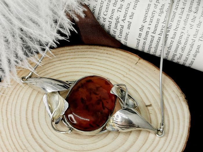 925 Amber - Necklace