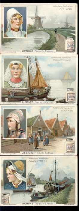 Liebig Cards (Collection of 36) - 1896-1911