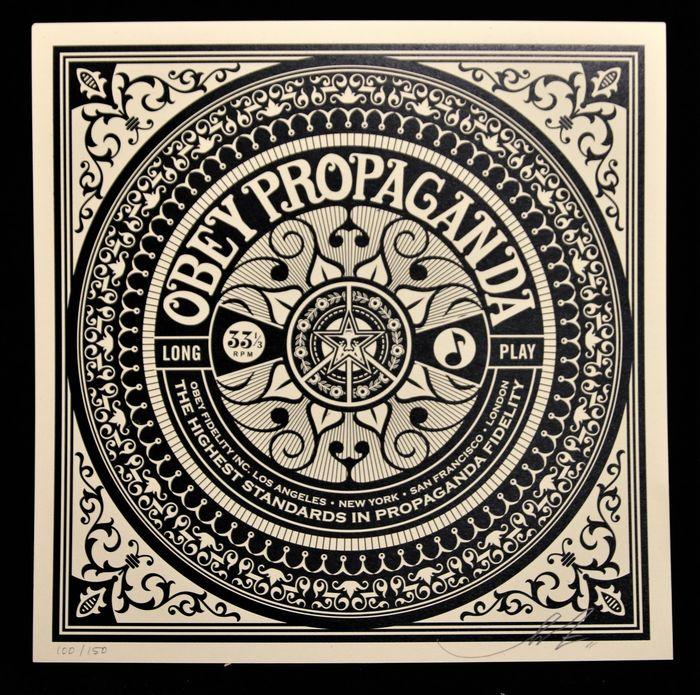Shepard Fairey ( aka Obey Giant ) - World Star (Party At The Moontower)