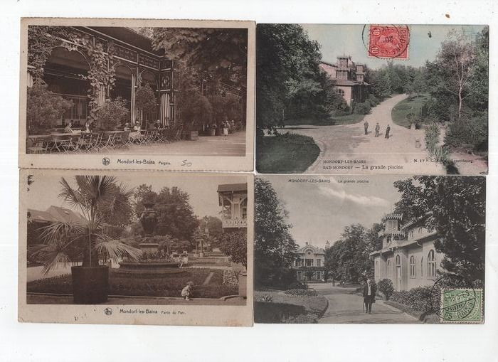 Luxembourg - City & Landscape - Postcards (Collection of 105) - 1900-1945